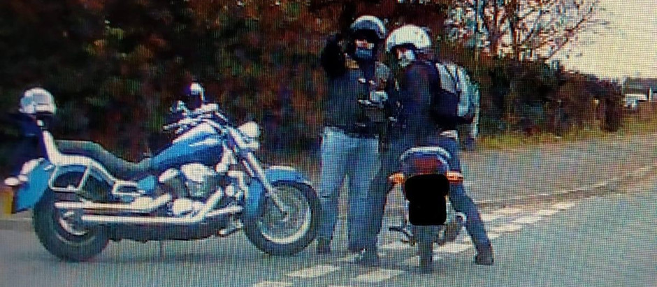 Attempted motorbike theft.