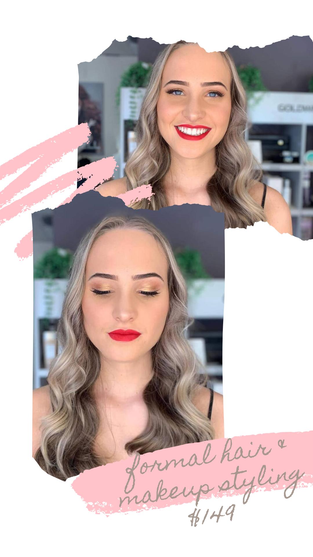 Cohair & makeup styling