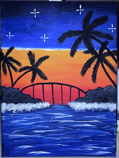Paint Class for Saturday, November 21st at 6:30pm