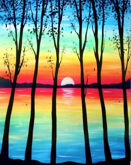 Paint Class of Saturday, October 3rd at 6:30pm