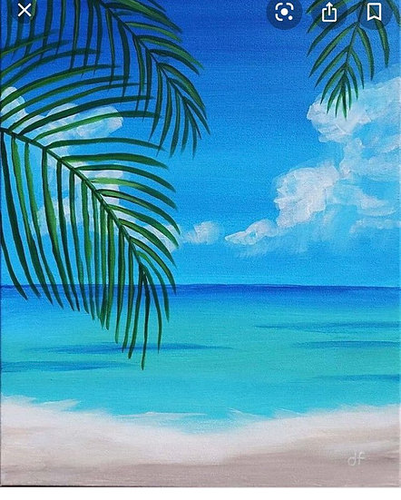 Paint Class for Saturday, April 17th at 6:30
