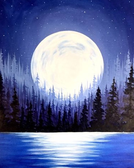 Paint Class for Saturday, March 13th at 6:30PM