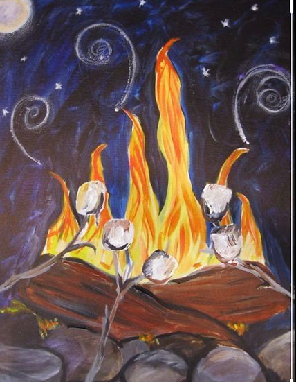 Paint Class for Saturday, November 7th at 6:30pm