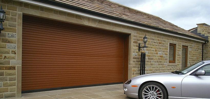 Double Insulated Roller Door