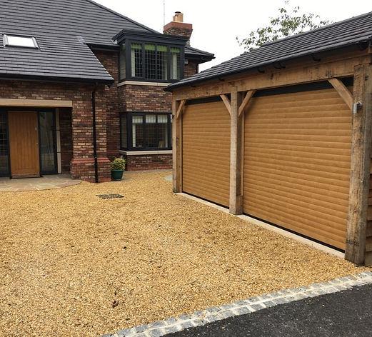 Double Roller Garage Door