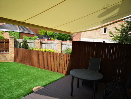 Full Cassette Patio Awning in Horbury, Wakefield