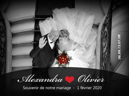 MARIAGE ALEXANDRA ET OLIVIER