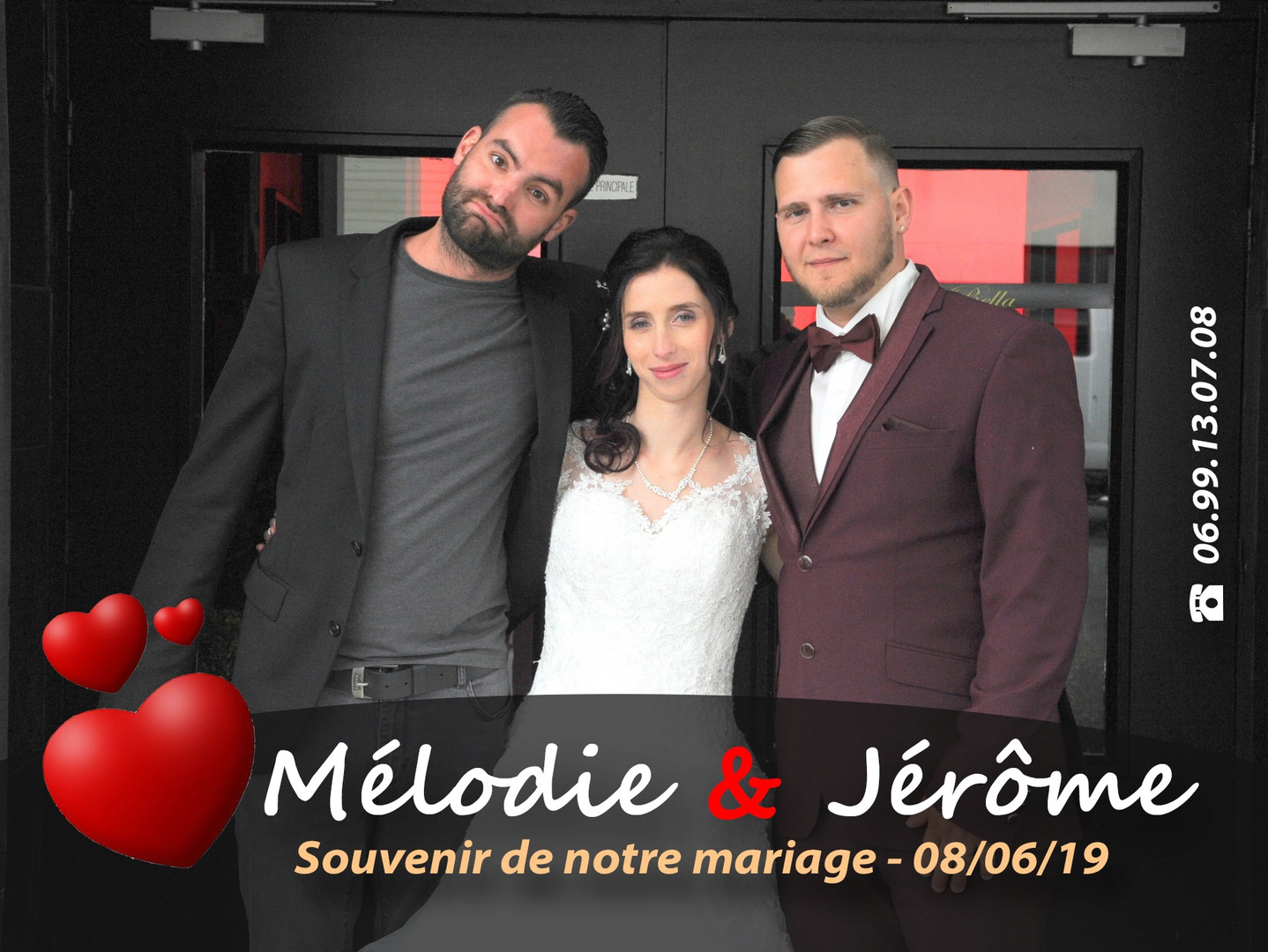 MARIAGE MELODIE ET JEROME