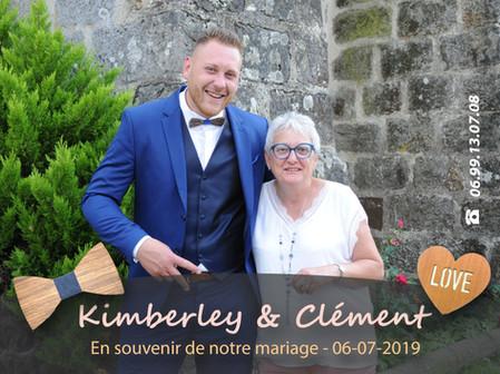 MARIAGE KIMBERLEY ET CLEMENT