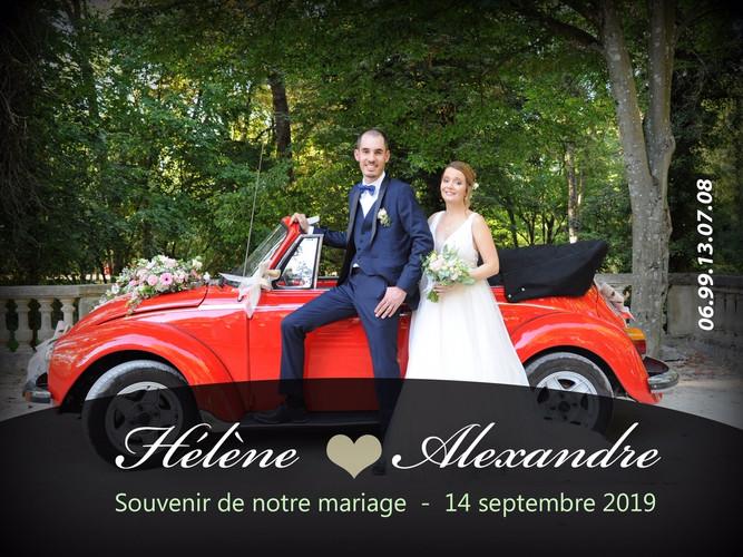 MARIAGE HELENE ET ALEXANDRE