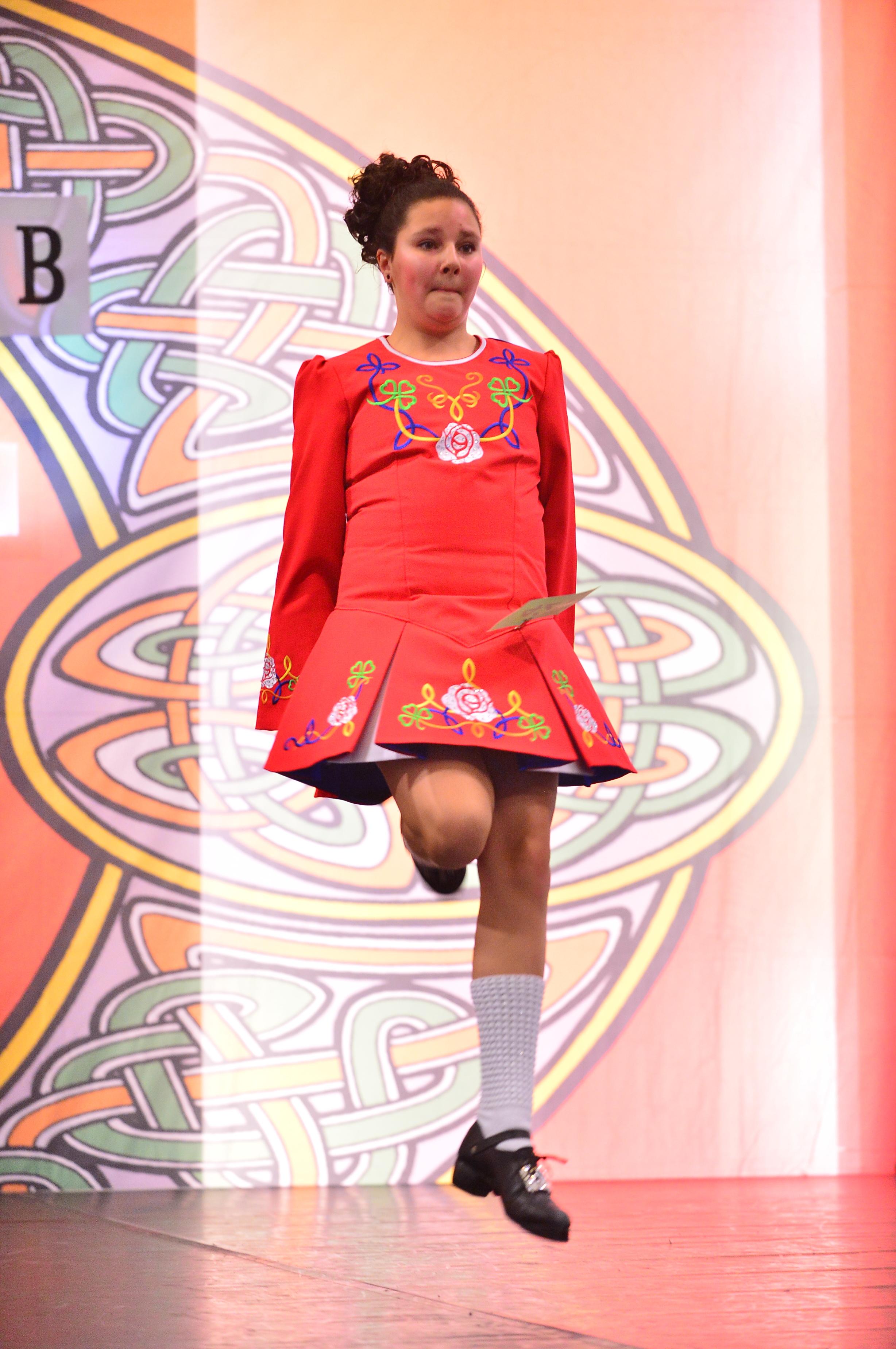 Ierse dansles Bergen op Zoom