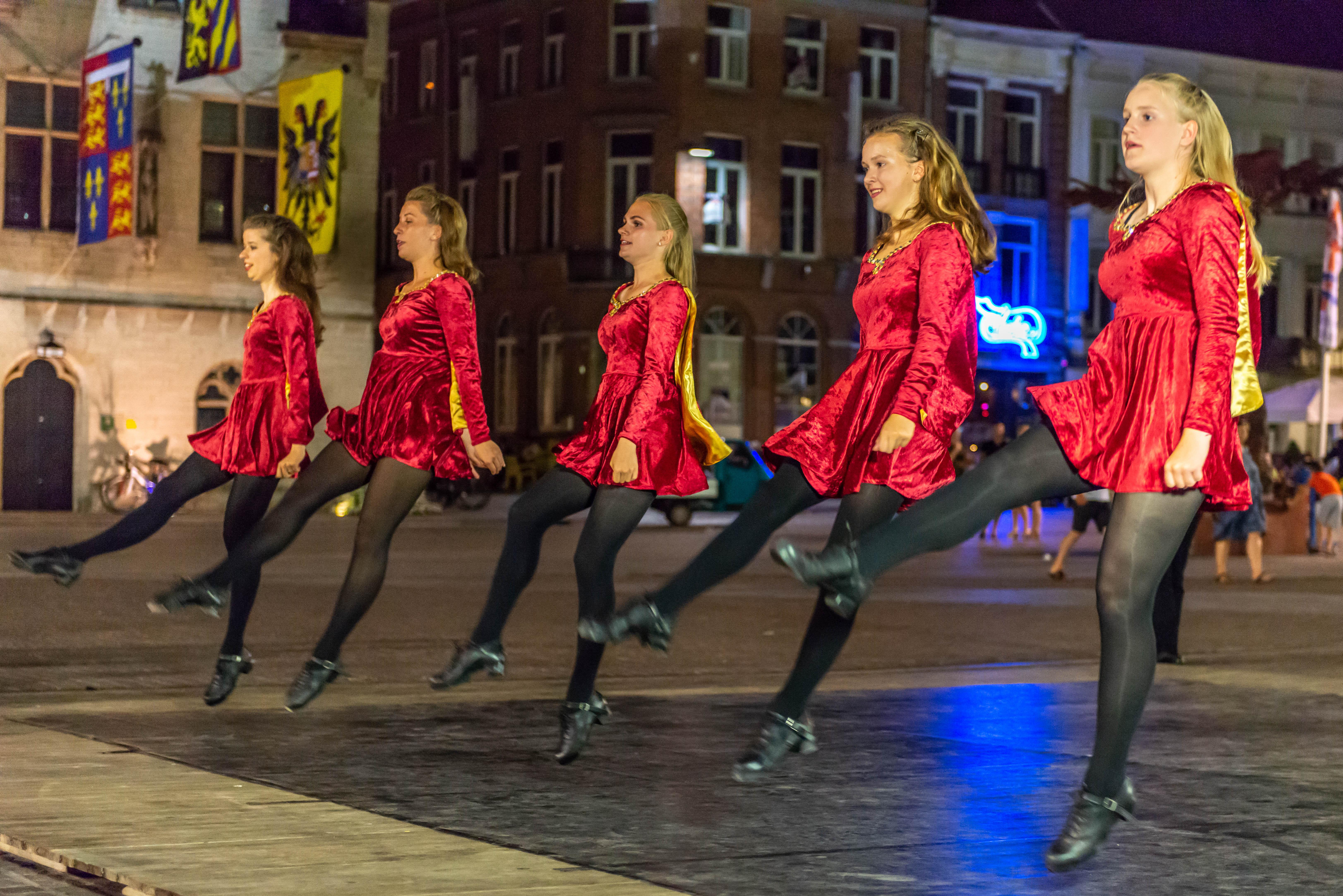 Irish dancing Holland