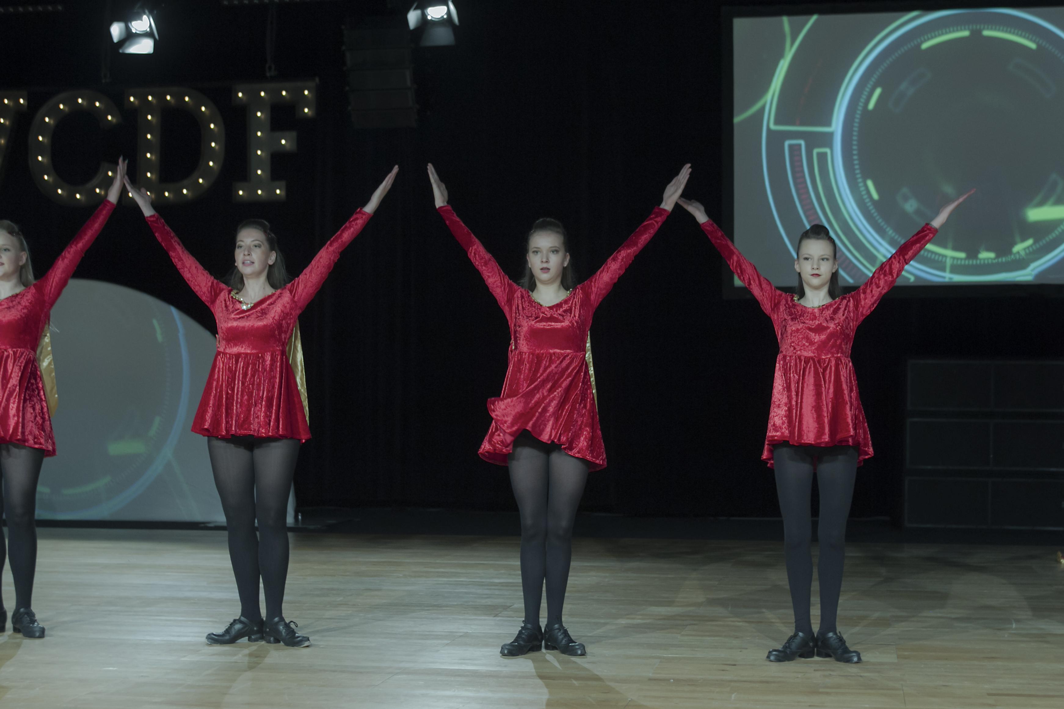 Irish dance performance
