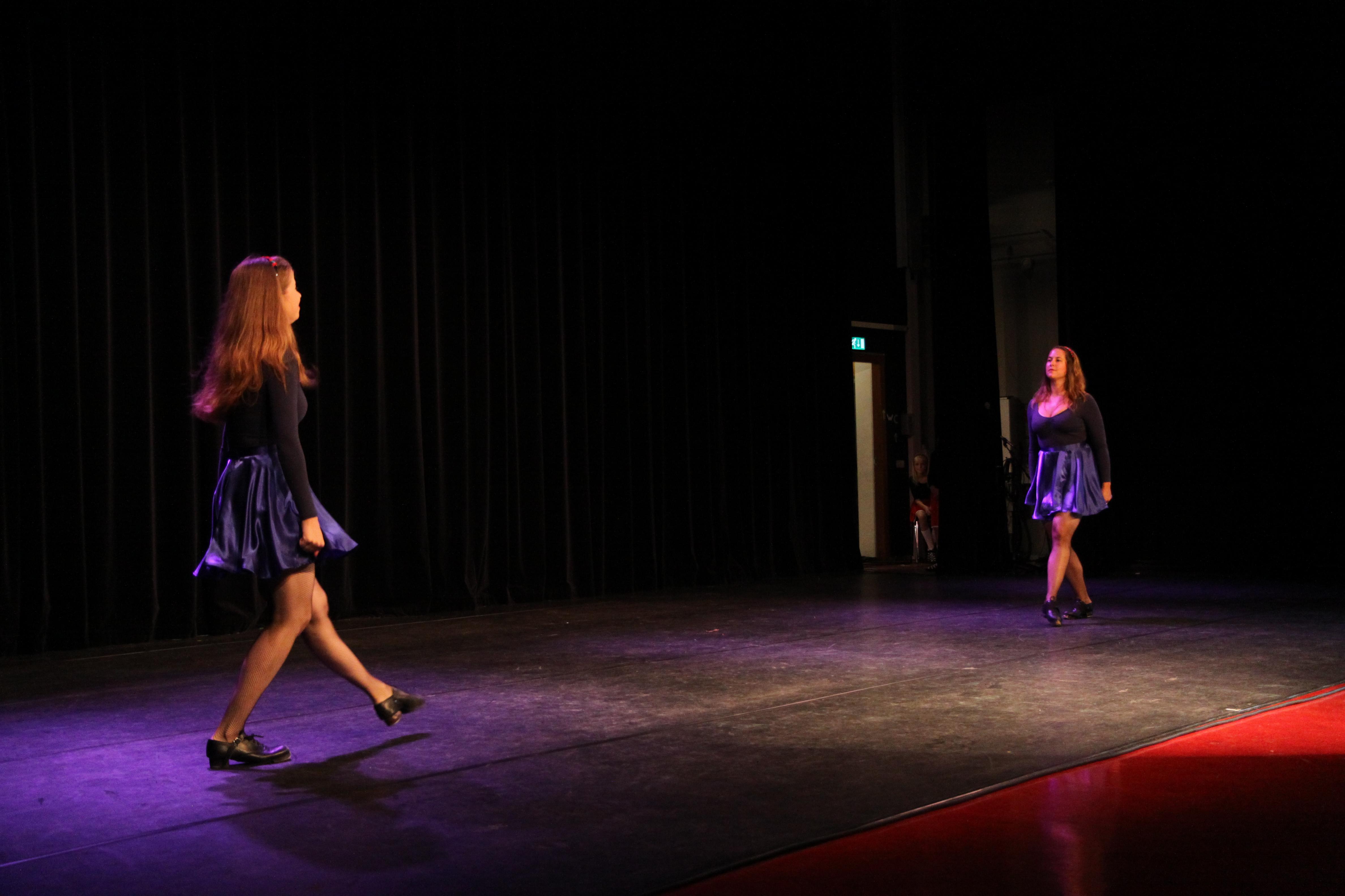 Ierse dans leren