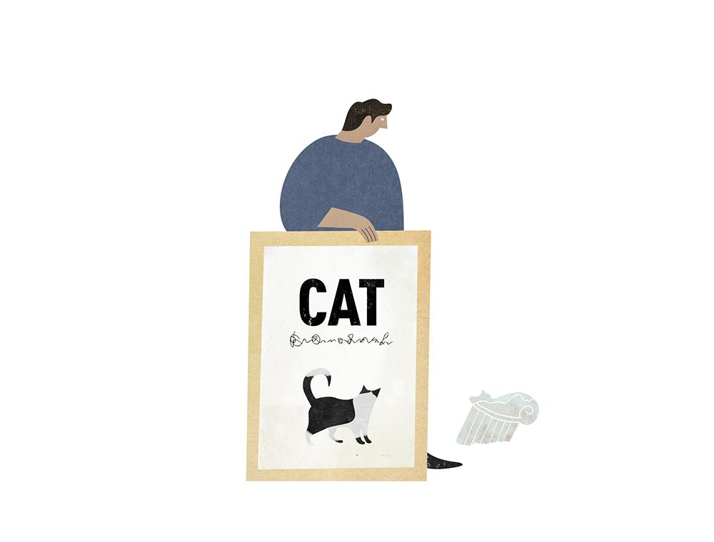 고양이액자