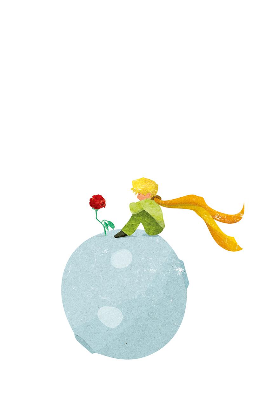 어린왕자와 장미
