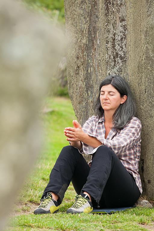 Meditation im Steinkreis