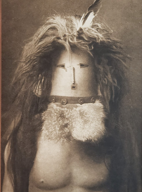 Hidden Faces by Edward S. Curtis