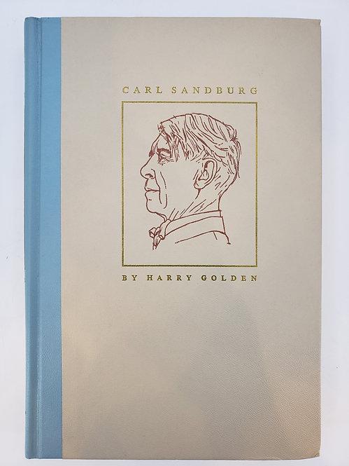 Carl Sandburg by Harry Golden