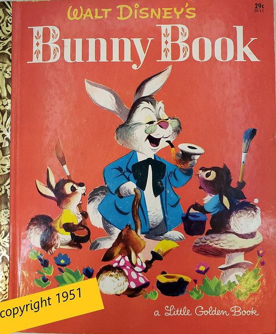 Walt Disney's Bunny Book, A Little Golden Book