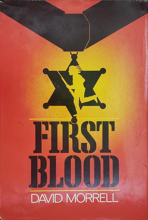 First Blood, a novel by David Morrell