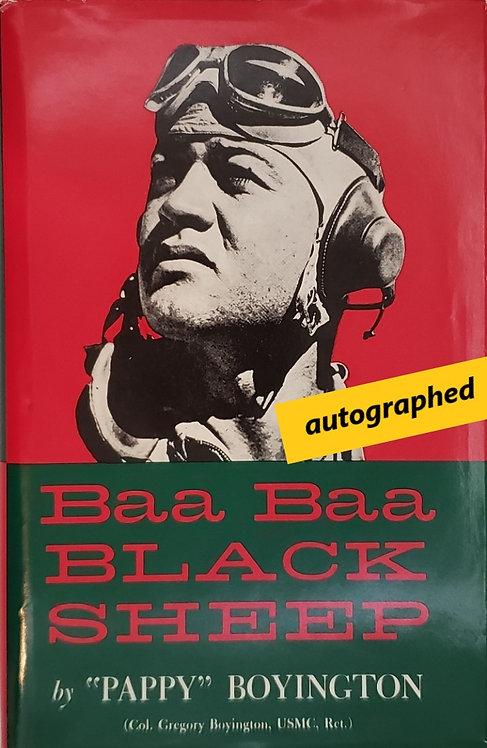 """BAA BAA BLACK SHEEP by """"Pappy"""" Boyington"""