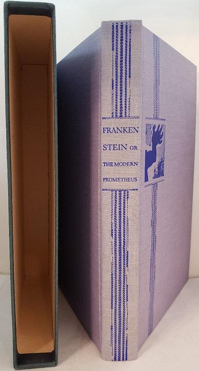 FRANKENSTEIN or, THE MODERN PROMETHEUS by Mary Wollstonecraft Shelley