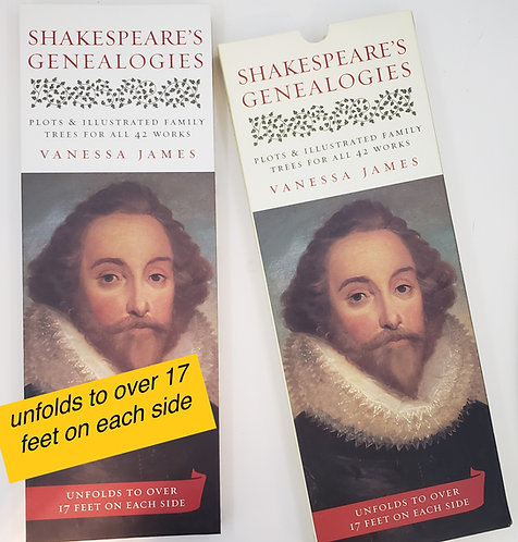 Shakespeare's Genealogies by Vanessa James