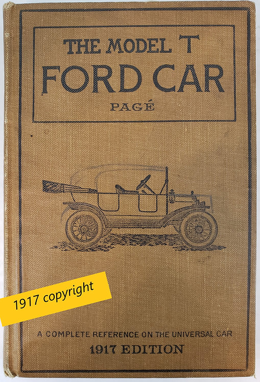 The Model T Ford Car by Victor W. Page