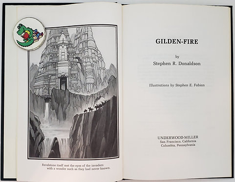 Gilden-Fire by Stephen R. Donaldson