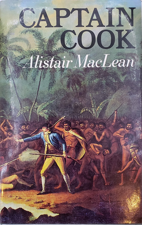CAPTAIN COOK by Alistair MacLean