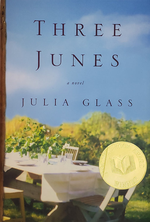 Three Junes, a novel by Julia Glass