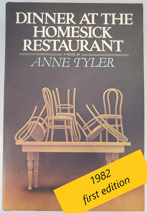 Dinner At The Homesick Restaurant, a novel by Anne Tyler
