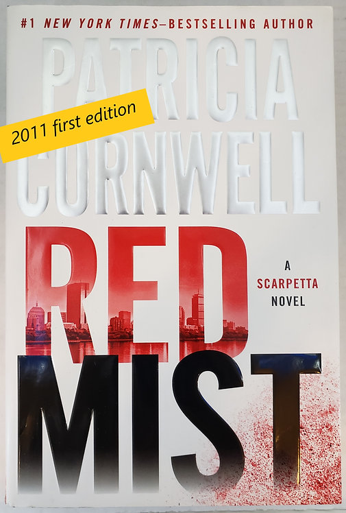 Red Mist, a Scarpetta novel by Patricia Cornwell