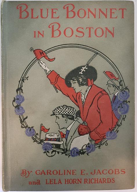 Blue Bonnet in Boston by Caroline E. Jacobs