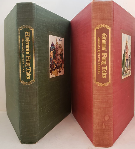 Andersen's Fairy Tales and Grimms' Fairy Tales (Boxed Set)