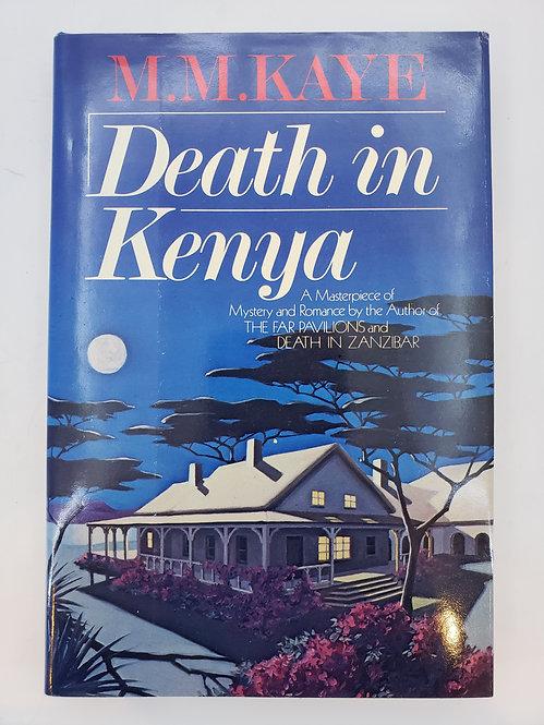 Death In Kenya by M.M. Kaye