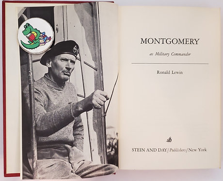 Montgomery as Military Commander by Ronald Lewin