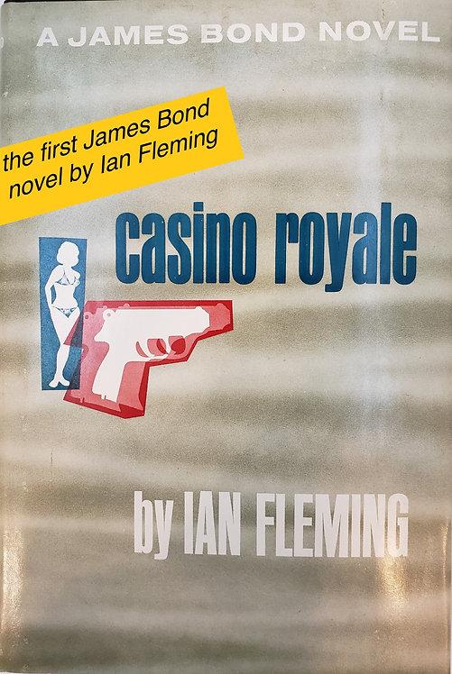 casino royale, a James Bond novel by Ian Fleming