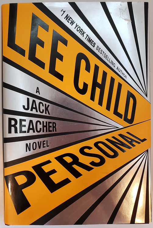 Personal, a Jack Reacher novel by Lee Child