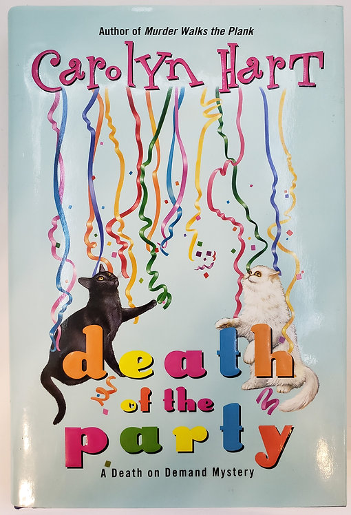 death of the party, A Death on Demand Mystery by carolyn hart
