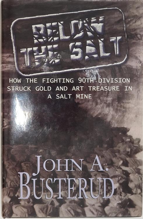 BELOW THE SALT by John A Busterud