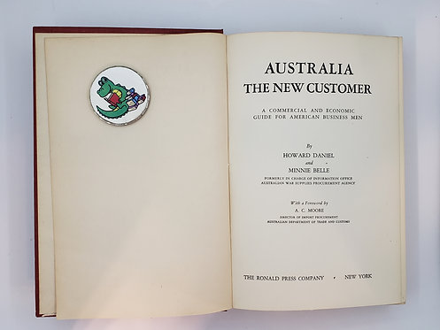 Australia The New Customer by Howard Daniel and Minnie Belle