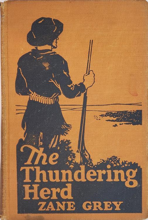 The Thundering Herd by Zane Grey