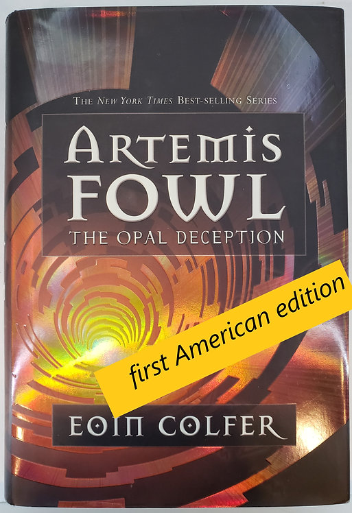 Artemis Fowl, The Opal Deception by Eoin Colfer