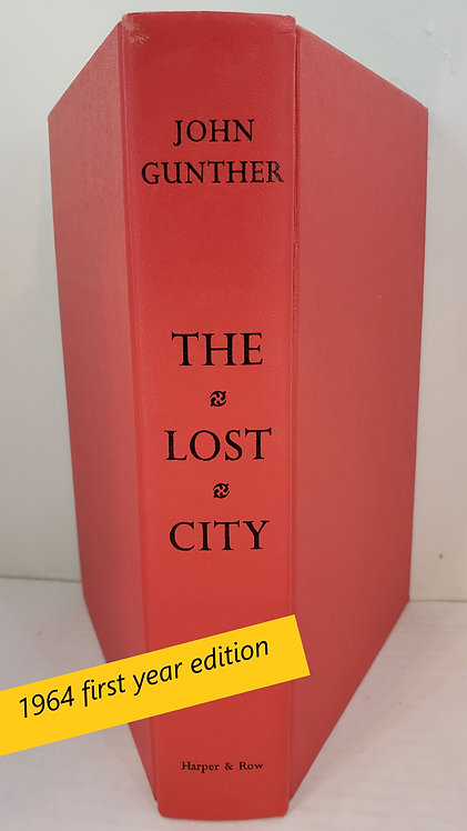 The Lost City, a novel by John Gunther