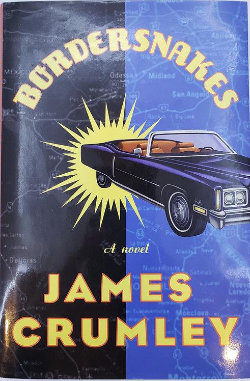 BORDERSNAKES, a novel by James Crumley