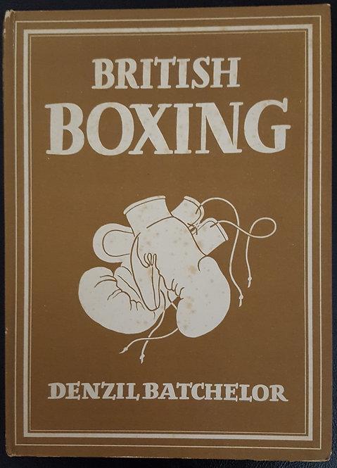 BRITISH BOXING by Denzil Batchelor
