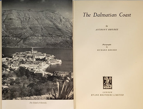 THE DALMATIAN COAST by Anthony Rhodes