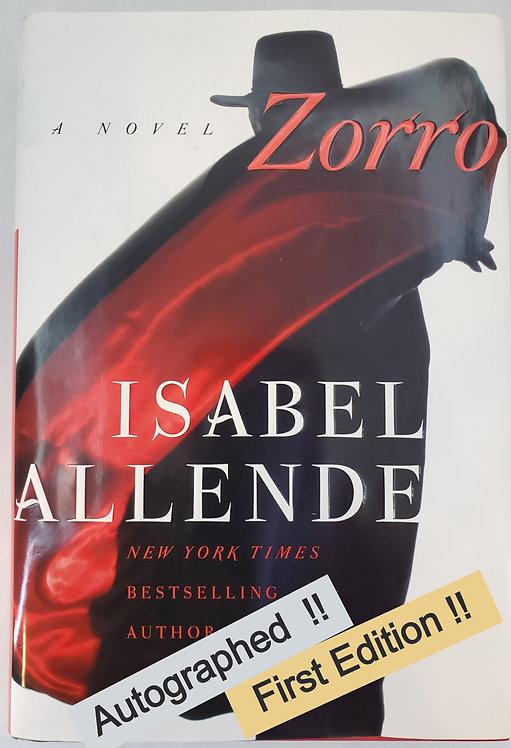 Zorro, a novel by Isabel Allende